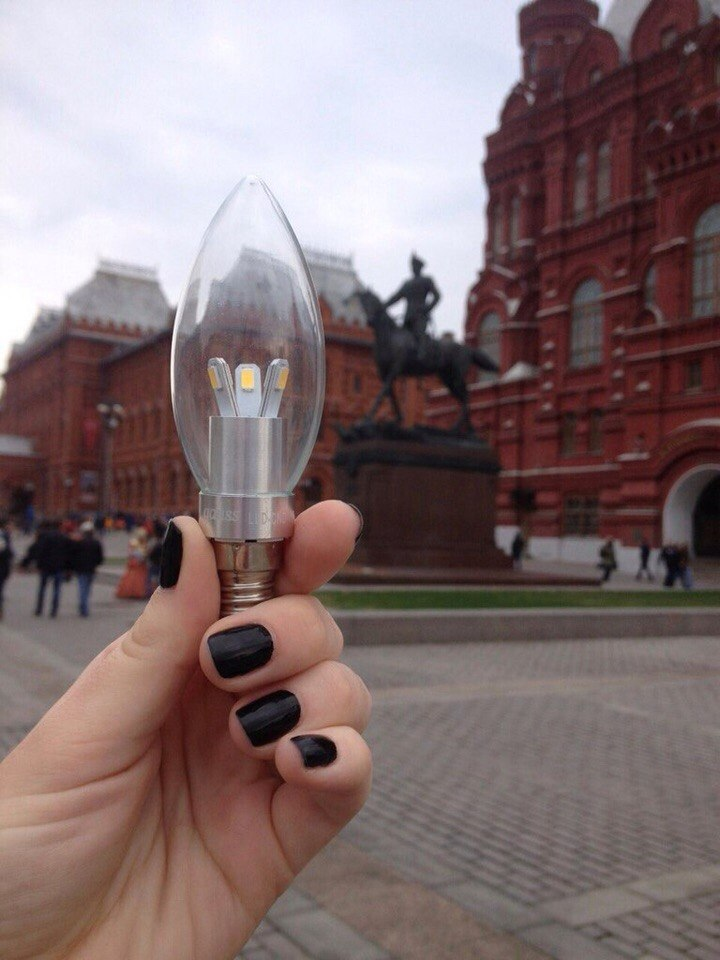 Gauss. Москва, Красная Площадь. Gaussselfie.