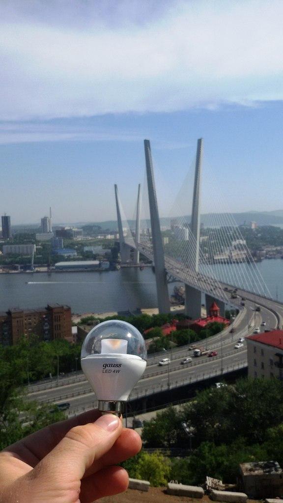 Gauss. Владивосток, Золотой мост. #Gaussselfie.
