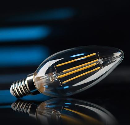 Filamentnye lampy